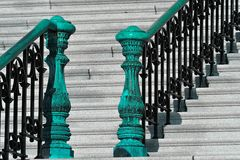 Capitol stairs. Old Capitol stairs detail, Washington DC Stock Images