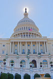 The Capitol, statue of freedom Royalty Free Stock Photo