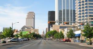 Capitol of Texas. Original image of downtown Austin, Texas Stock Photos