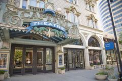 Capitol Theatre, Down Town Salt Lake City, Utah Stock Photography