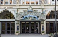 Capitol Theatre, Down Town Salt Lake City, Utah Stock Images