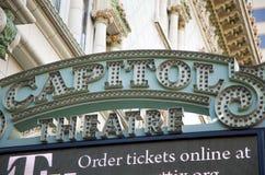 Capitol Theatre, Down Town Salt Lake City, Utah Stock Photo