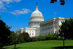 Capitol of United States. The United States Capitol is the capitol building that serves as the seat of government for the United States Congress, the legislative Royalty Free Stock Photos