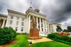 Capitol van de staat in Montgomery, Alabama Stock Foto's