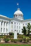 Capitol van de staat in Montgomery, Alabama Stock Afbeeldingen
