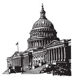Capitol van de V.S. stock foto