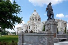 Capitol w Saint Paul historycznym budynku Zdjęcia Stock