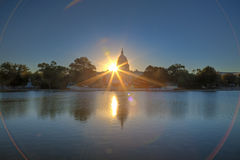 capitol wschód słońca s u obraz royalty free