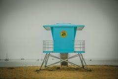 Capitola海滩 免版税库存图片