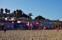 Capitola θαλασσίως σε κεντρική Καλιφόρνια Στοκ Φωτογραφίες