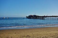Capitola θαλασσίως σε κεντρική Καλιφόρνια Στοκ φωτογραφία με δικαίωμα ελεύθερης χρήσης