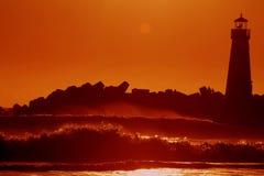 capitola пляжа Стоковые Фото