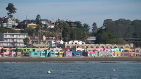 Capitola beach California Royalty Free Stock Photos