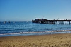 Capitola by the Sea in central California Royalty Free Stock Photo