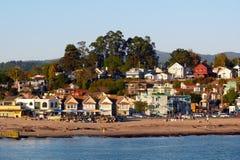 Capitola Strand Kalifornien lizenzfreie stockbilder