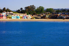 Capitola Village Royalty Free Stock Photo