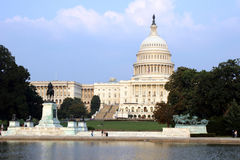 capitoldc oss washington Royaltyfri Bild