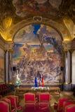 Capitole εσωτερικός Salle des Illustres Τουλούζη Γαλλία Στοκ φωτογραφία με δικαίωμα ελεύθερης χρήσης