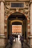 Capitole. Detail of the entrance. Toulouse. France Royalty Free Stock Image