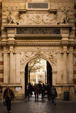 Capitole. Detail of the entrance. Toulouse. France Stock Image