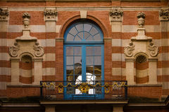 Capitole. Detail of the inner yard. Toulouse. France Stock Photo