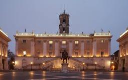 capitoline博物馆照片罗马股票 图库摄影