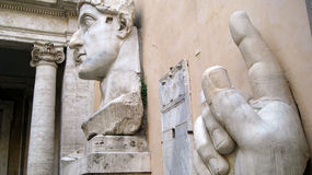 Capitoline博物馆罗马 免版税库存照片