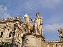 Capitoline Hügel Lizenzfreies Stockbild
