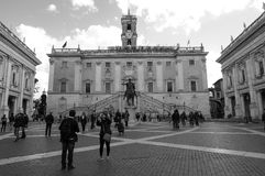 Capitoline Hill in Rome Stock Photography