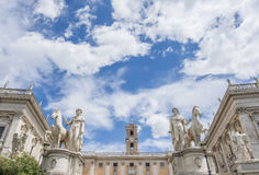 Capitoline Hill in Rome stock photos