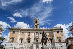 Capitoline Hill in Rome Royalty Free Stock Images