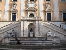 Capitoline Hill in Rome Stock Image