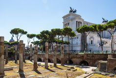 Capitoline Hill in Rome, Italy Stock Photography
