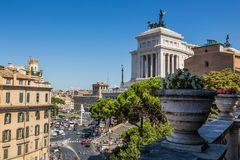 Capitoline Hill in Rome, Italy Royalty Free Stock Photography