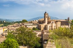 ancient town Urbino, Italy Royalty Free Stock Image