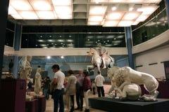 Capitoline museum i Rome Arkivbilder