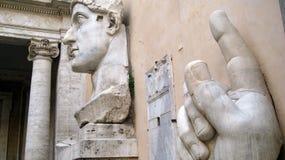 Capitoline museum Rome Royaltyfria Foton