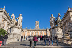 The Capitoline in Rome, Italy. Royalty Free Stock Photos