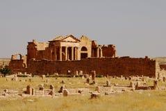 Capitoline Temples, Sufetula, Sbeitla, Tunisia Royalty Free Stock Photo