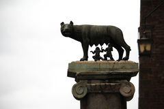 Capitoline she-wolf, Rome, Italy Royalty Free Stock Photos