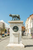 The Capitoline Wolf Statue Stock Photo