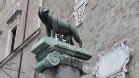The `Capitoline wolf` Royalty Free Stock Photography