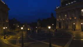 Capitolinevierkant stock footage
