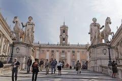 Capitolini Museum in Rom Stockfotografie