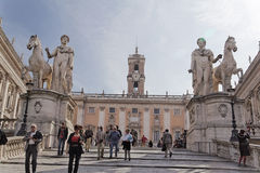 Capitolini Museum in Rome Stock Photography
