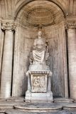 Colossal Statue of Sitting Rome: Cesi Roma Royalty Free Stock Photo