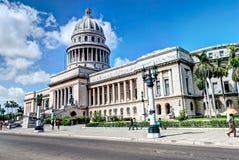 capitolio古巴el哈瓦那 库存图片
