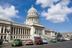 capitolio古巴哈瓦那 免版税库存照片