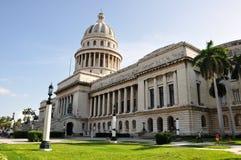 capitolio古巴哈瓦那 免版税库存图片