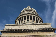The Capitolio Building Royalty Free Stock Image